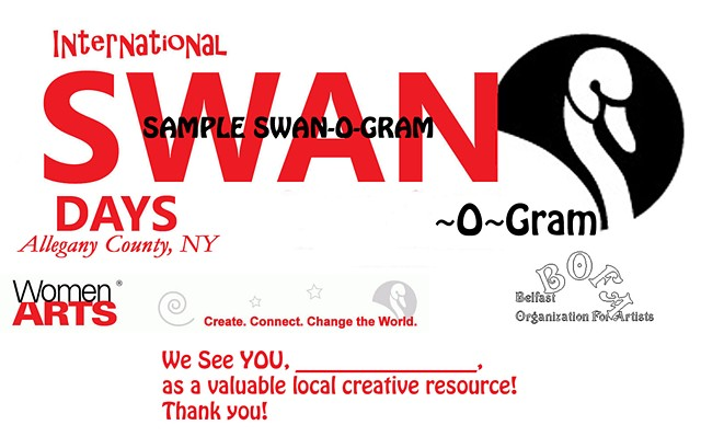 Women Artists, SWAN-o-Gram, SWAN Day,