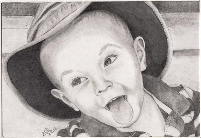 child portrait, boy portrait, portrait gifts