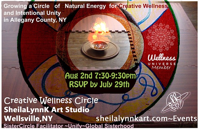 Women's Circles, Sacred Circles, Creative Wellness, Pain Management, Sacred Sister Circles, Unify