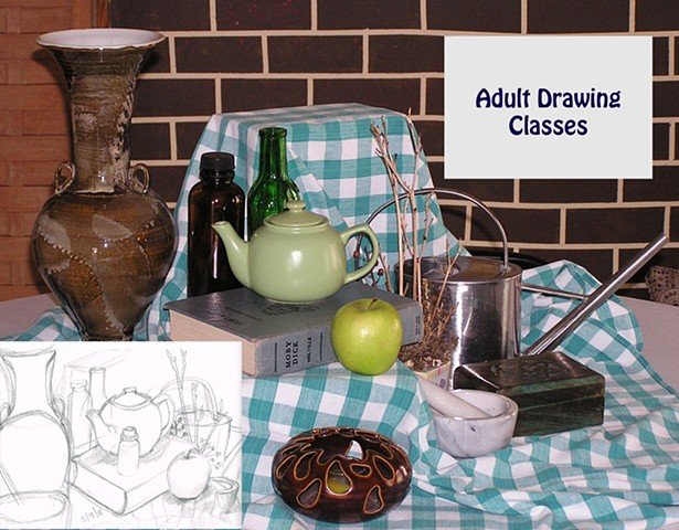 Adult Art Classes Wellsville NY