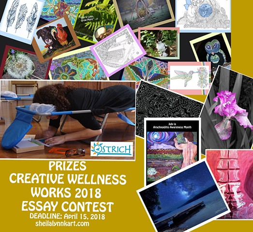 Creative Wellness Works Essay Contest, Essay Contest, Writing Contest, Wellness and Art,