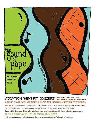 """The Sound of Hope"" June 1st at 7pm Ulysses, PA"
