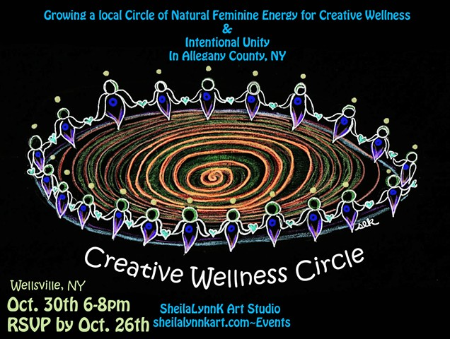 Sacred Circles, Sister Circle, Wellsville NY, Allegany County NY, Wellness, Pain Management