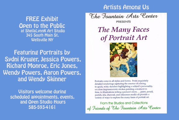 Allegany County NY Artists, Artists Among Us