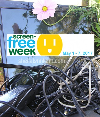 Screen Free Week, Non-Toxic Art, Wellness