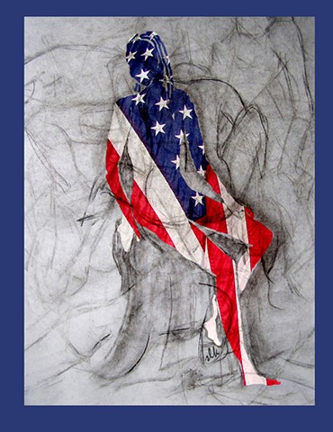 American Woman, Unity, American Art , American Choices, Divided We Fall