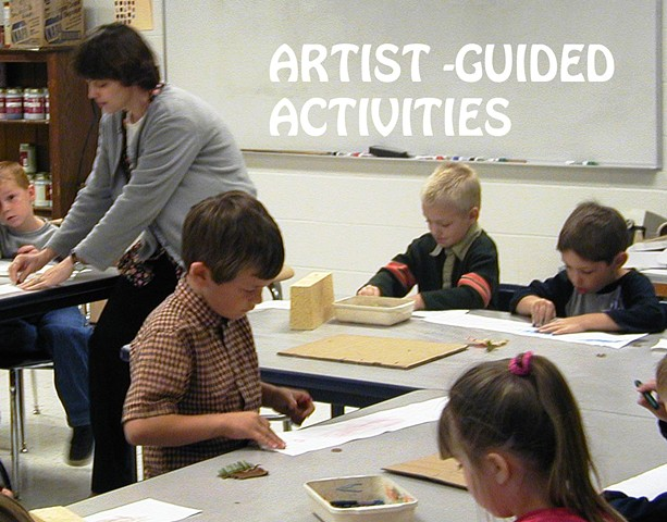 Artist Guided Activities & Parties