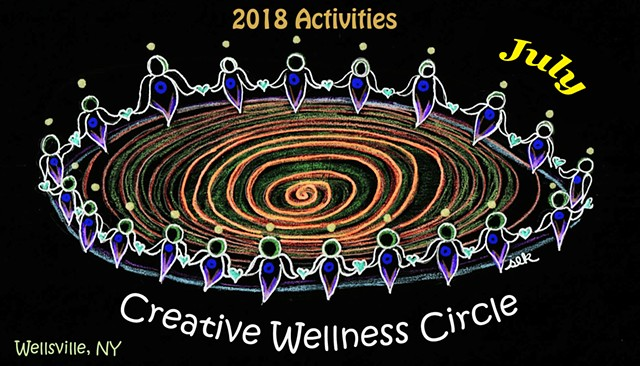 July Creative Wellness Circle