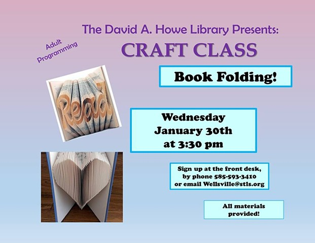 Book Folding Workshop