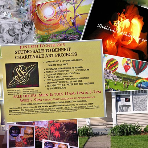 Sale To Benefit Charitable Art Projects
