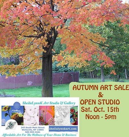 affordable art, Wellsville NY, Open Studio Allegany County NY,