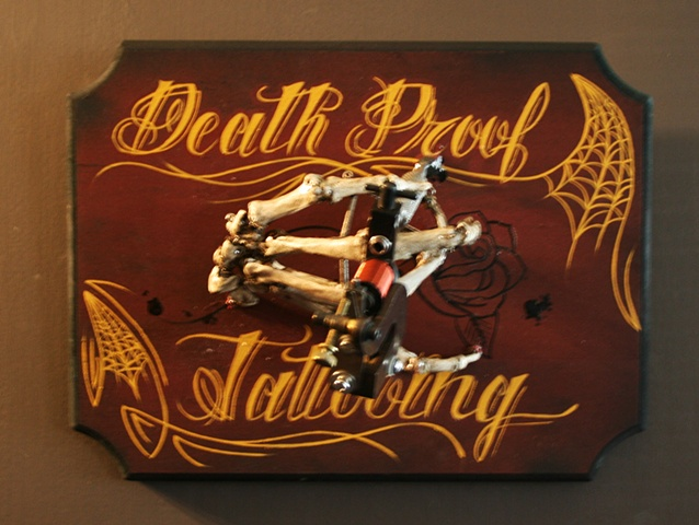 Death Proof by Tiffany Garcia Tattoo Artist located in Long Beach, Huntington Beach, Carson, Palos Verdes, Los Angeles, West Hollywood, Pacific Coast Highway and surrounding areas in Southern California.