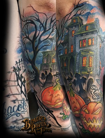 Haunted house strikes again by Tiffany Garcia Tattoo Artist Torrance