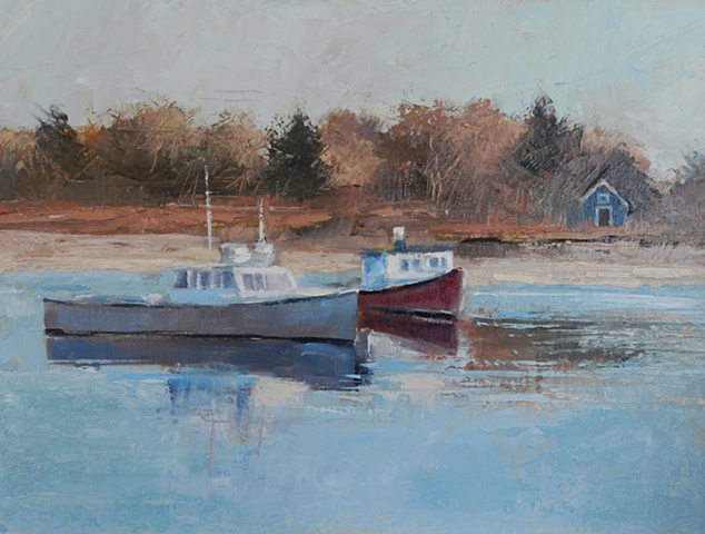 Cohasset Harbor Boats