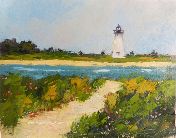 Edgartown Light from Chappy