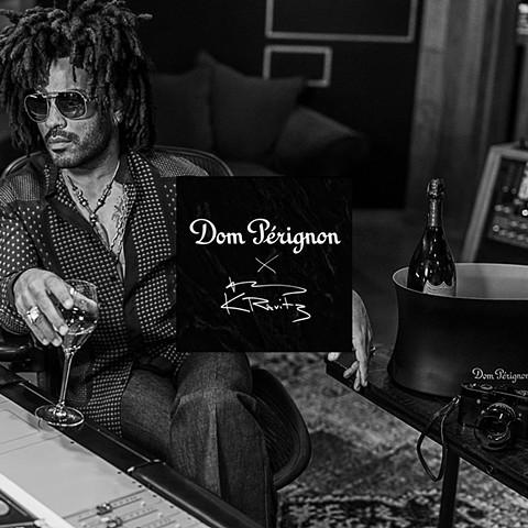 Lenny Kravitz for Dom Perignon