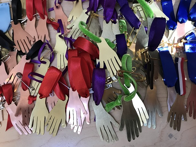 Hand Medal Project, Hand Makers, Gratitude for Frontline Healthcare Workers
