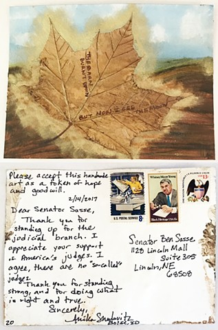 Smulovitz, Handmade Postcards of Hope: Postcard 20