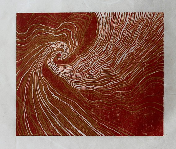 Whorl (Ochre Red)