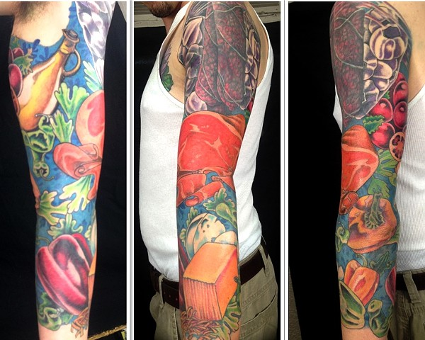 Chef sleeve