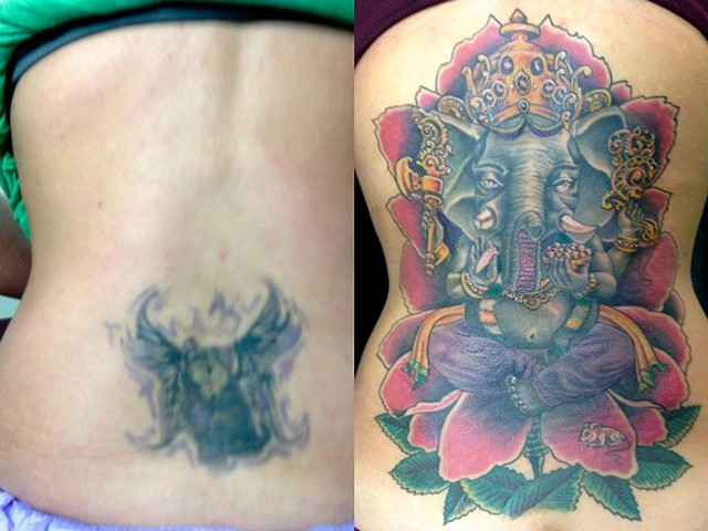 Ganesha Cover Up