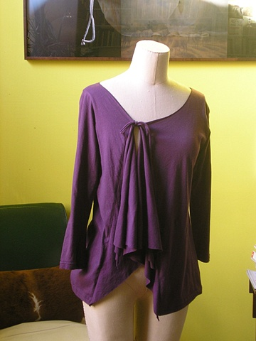 plum goodness cardigan.