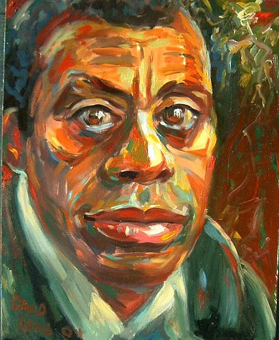 James Baldwin older