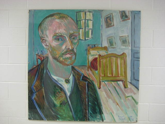 Van gogh in bedroom