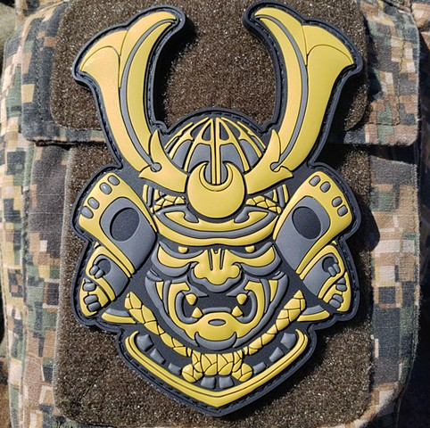 Samurai PVC Morale Patch