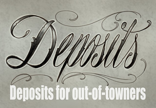 Deposits for out-of-towners