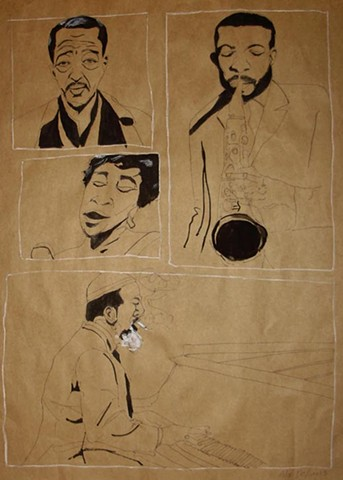 Duke, Ella, Ornette, & Thelonious
