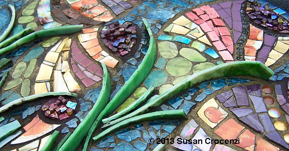mixed-media mosaic