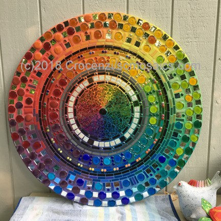 "Video of my 3' mandala ""Full Spectrum"""
