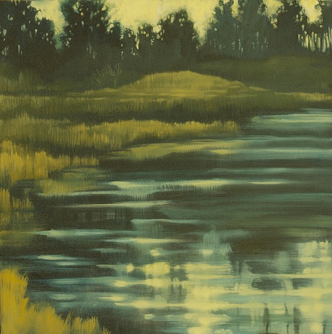 """Evening Wetlands""   -SOLD-"