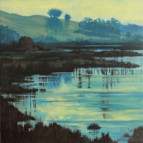 """Blue Wetlands""   -SOLD-"