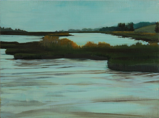 Another piece based on the Schollenberger Wetlands in Sonoma County.