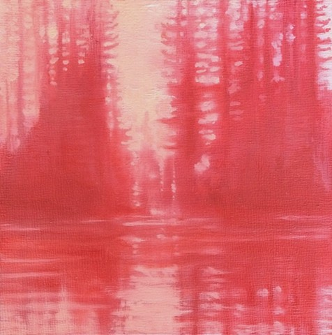 Red Trees Study II   -SOLD-