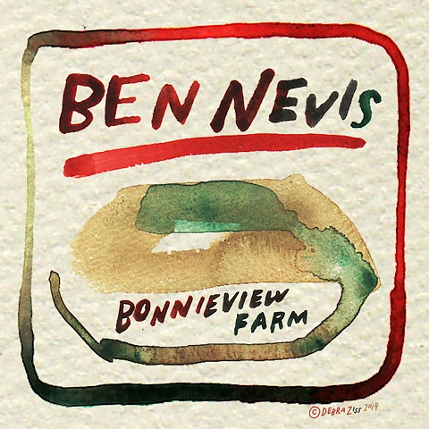 cheese illustration saxelbyben nevis, three corner field farm