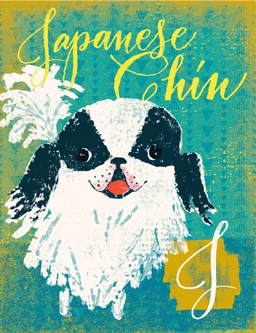 J is for Japanese Chin