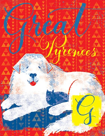 G is for Great Pyrenees