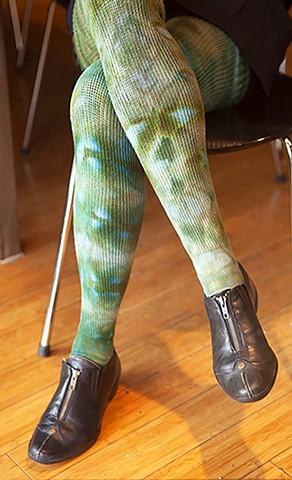 Ice Dyed Leg Warmer