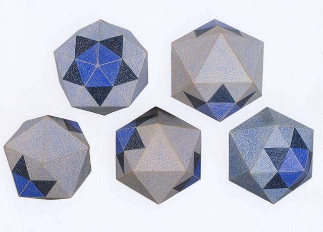 Eva Slater drawing of Pleiades