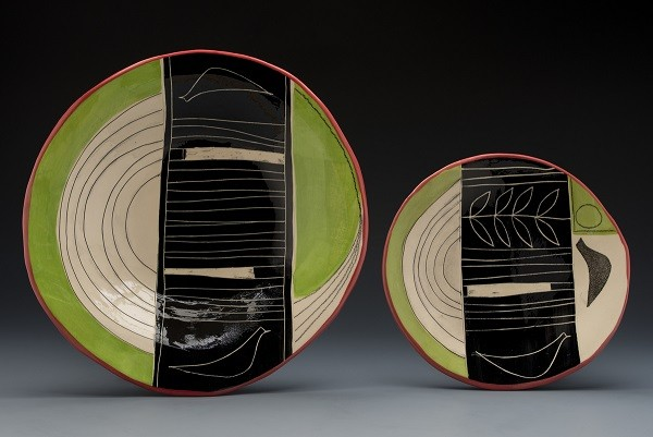 Plate and Large Bowl