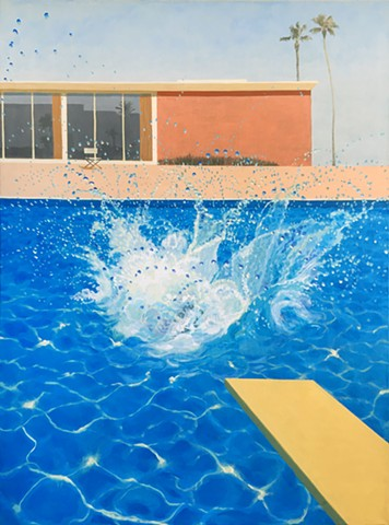 A Bigger Finish (Hockney)