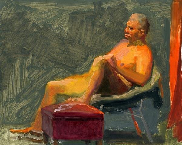 John Relaxing