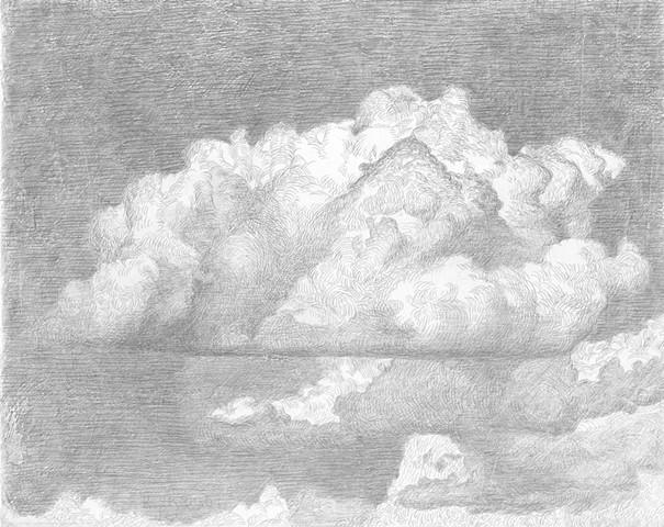 cloud cumulus humilis silverpoint kyle stevenson