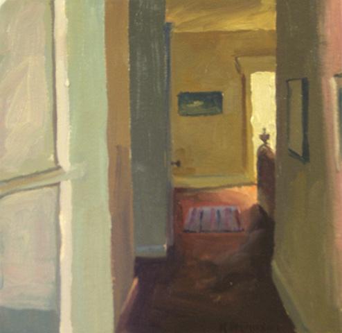 night hall sketch