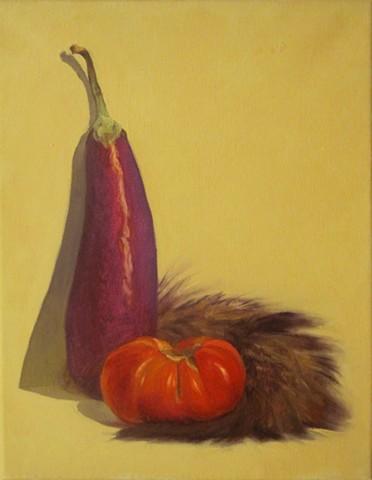 Eggplant, Heirloom, Foxtail