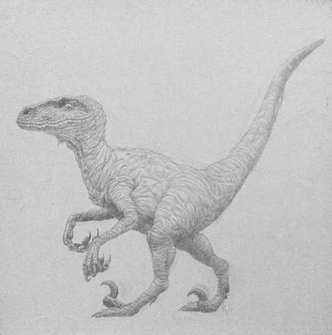 kyle stevenson silverpoint raptor velociraptor