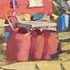 red house detritus